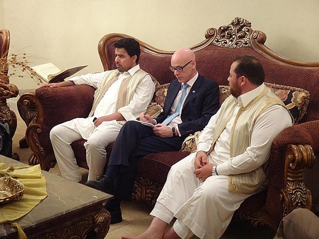 DR SHANE BRYANS MEETING WITH OFFICIALS - LIBYA MAY 2012